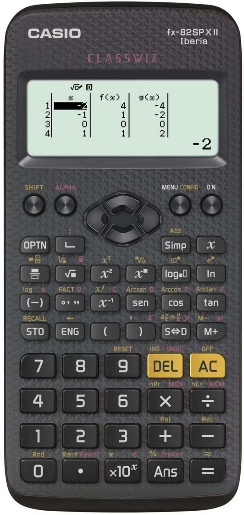 CALCULADORA FX 82SP XII CASIO