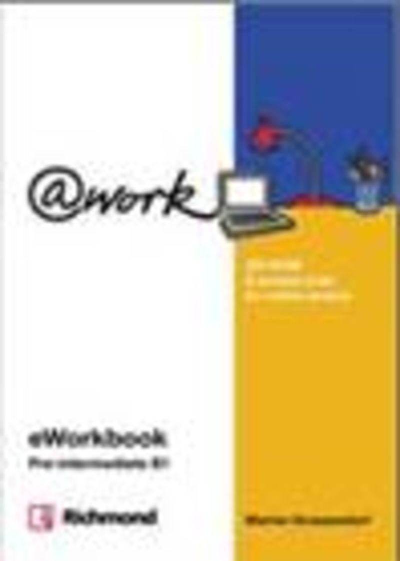 @WORK PRE-INTERMEDIATE E-WORKBOOK LICENCIA