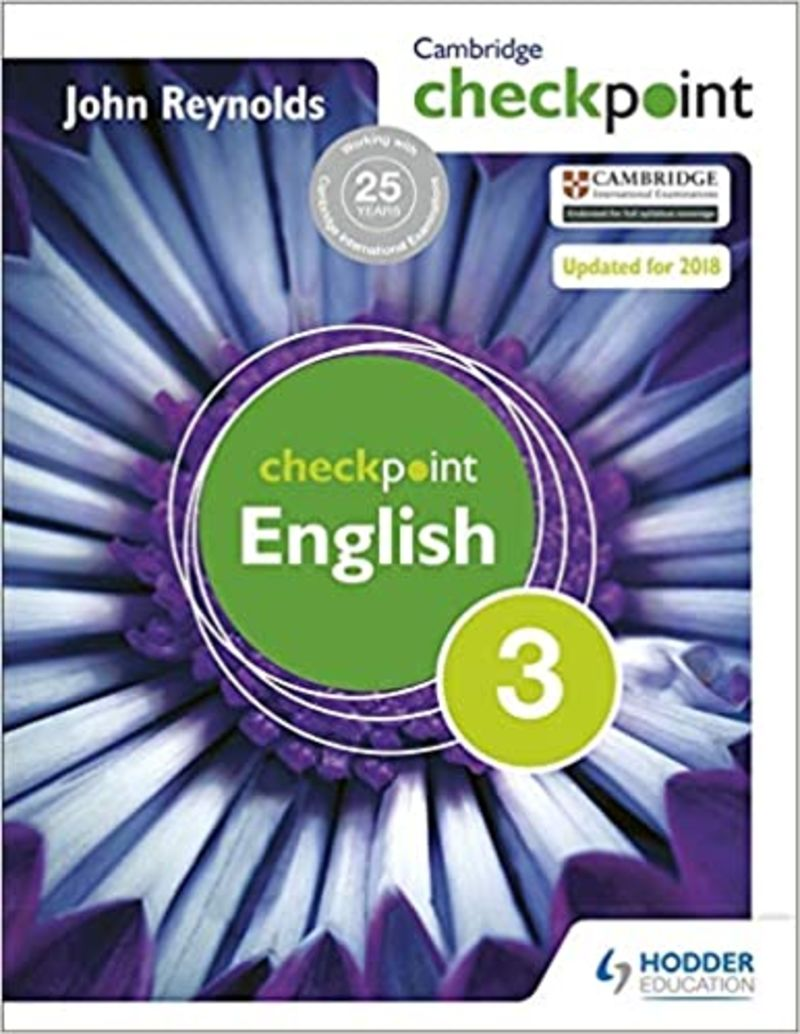CAMBRIDGE CHECKPOINT ENGLISH 3  (ALUMNO)
