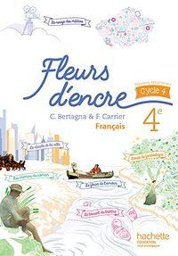 FLEURS D'ENCRE 4EME