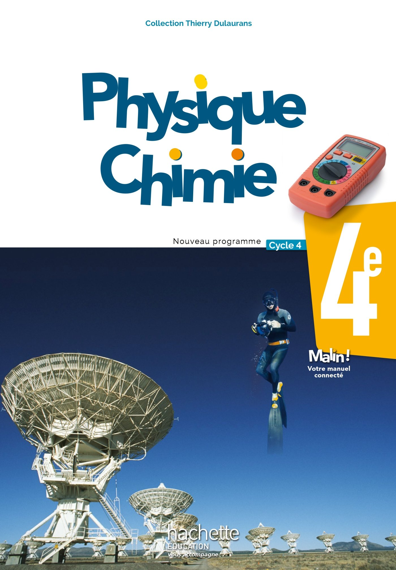 PHYSIQUE - CHIMIE 4EME ED.  2017