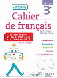 CAHIERS FRANCAIS 3EME