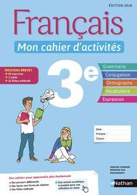 MON CAHIER D'ACTIVITES 3EME