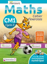 CAHIER D'EXERCICES IPARCOURS CM1 ED.  2020