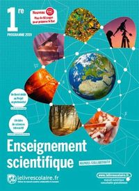 ENSEIGNEMENT SCIENTIFIQUE 1ERE