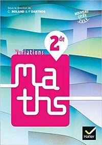 VARIATIONS MATHS 2DE