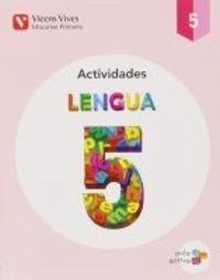 LENGUA 5.  CUADERNO ACTIVIDADES