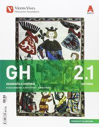 ESO 2 - GEOGRAFIA E HISTORIA MEDIEVAL / MODERNA  (+SEPARATA)  - AULA 3D  (V