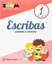 ESCRIBAS 1 CUADERNO DE ESCRITURA