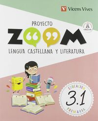 PROYECTO ZOOM LENGUA CASTELLANA Y LITERATURA  (TRIMESTRALIZADO)