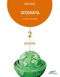 GEOGRAFIA 2 BACHILLETATO