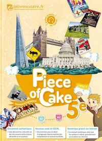 PIECE OF CAKE 5EME LIVRE DE L'ELEVE