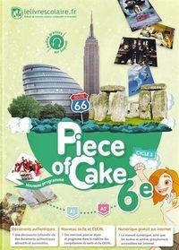 PIECE OF CAKE 6EME LIVRE DE L'ELEVE